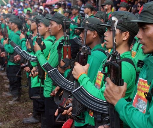 The CPP-led New People's Army is gaining strength.